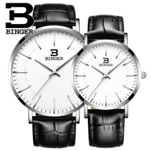 Brand Luxury Binger Casual Nylon Watch Men Waterproof Quartz Watch Male Clock Canvas Nylon Wrist Watch Men Relogio Masculino