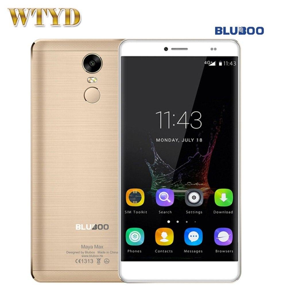 BLUBOO Maya Max 32GB+3GB 4G Fingerprint Identification 6.0'' Android 6.0 MTK6750 Octa Core 1.5GHz Bluboo May 16GB+2GB 5.5 inch