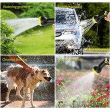 Expandable Garden Magic Hose with Spray Gun