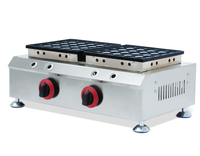 lPG Gas Waffle maker machine; gas poffertjes grill machine