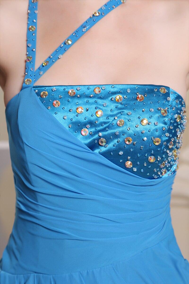 Blauw Sexy Avondjurken Avondjurk 2019 Open Been Split voor Rockabilly Lange Jurken Party Dubai Luxe Kopen China Directe