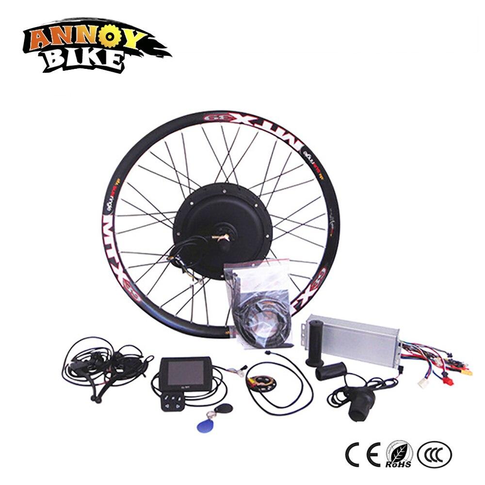 72в 3000вт быстрой скорости 70км/ч Электрический велосипед комплект, Электрический велосипед Комплект для переоборудования для Электрический велосипед 3кВт
