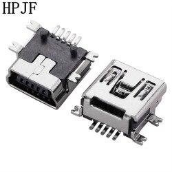 10 шт Мини Тип USB B Женский 5 булавки SMT SMD Разъем гнездо разъема ПП короткое тело USB