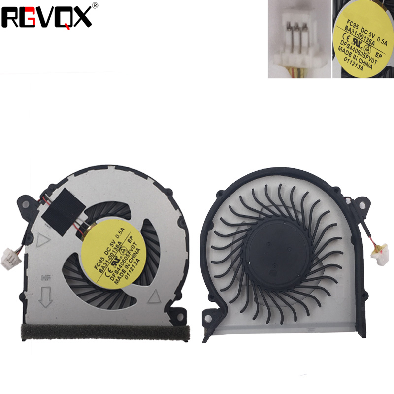 Купить с кэшбэком New Original Laptop Cooling Fan For Samsung NP530U4E 530U4E NP535U4E NP540U4E NP740U3E NP740U3C PN:BA31-00136A