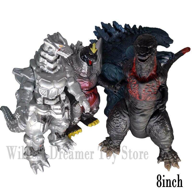 1pcs Godzilla Figura Movie Figures Movable Doll Model Toy Action Figure Jongens Kid Kind Speelgoed Anime Cartoon Monsters Gojira