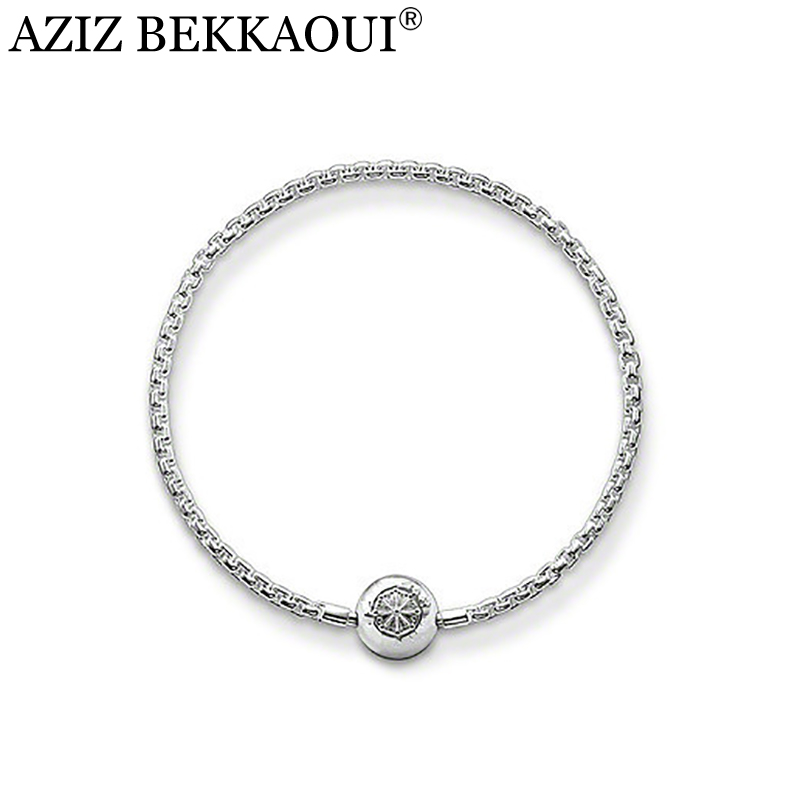 AZIZ BEKKAOUI New Free shipping silver Plated Fashion Unisex Jewlery balls bracelets ball pendant charm for bracelets TZB001