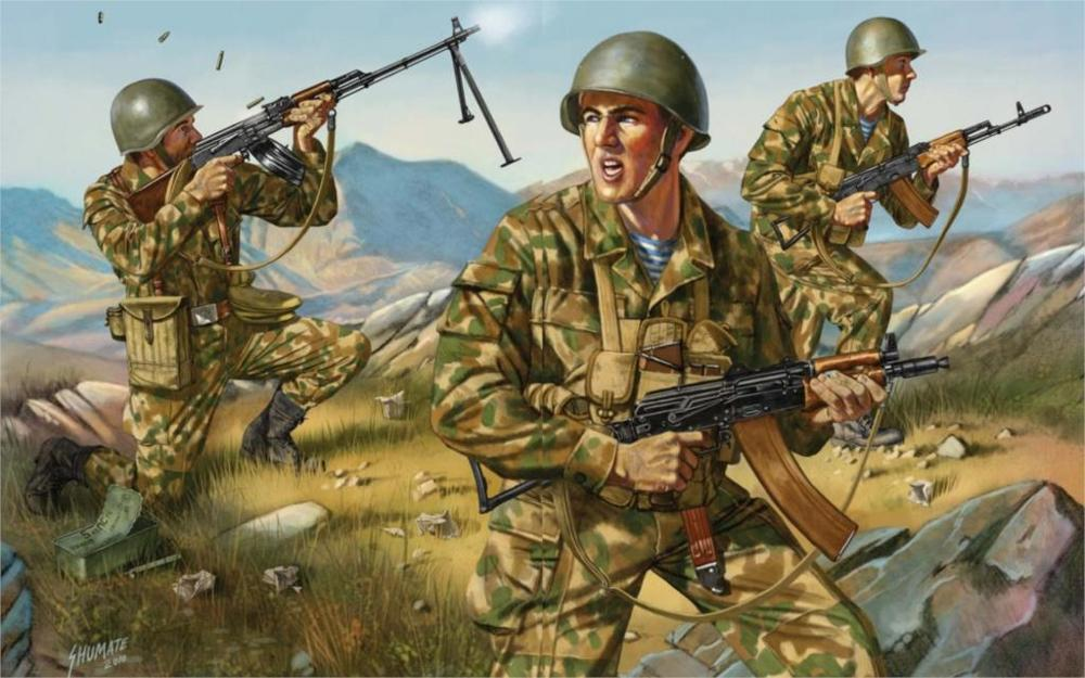 WAR-ART-mountains-of-Afghanistan-Soviet-airborne-army-assault-rifles-a-machine-gun-equipment-Canvas-Poster.jpg