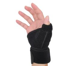 Neoprene Sport Wrist Thumb Support Splint Brace Hand Strain Sprains Protector Pain Relief