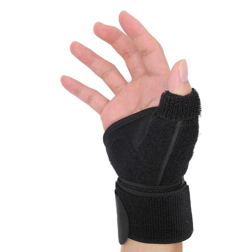 Neoprene Sport Wrist Thumb Support Splint Brace Wrist Hand Strain Sprains Support Protector Pain Relief