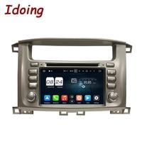 Idoing 2Din Steering Wheel Android6 0For Toyota Land Cruiser Car DVD Player 2G RAM 32G ROM