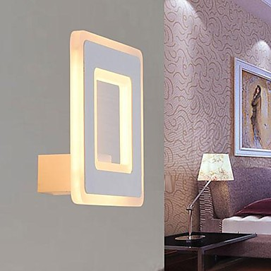 Wall Sconce,Simple Modern Artistic LED Wall Lamp Light  For Bed Home Lighting Free Shipping