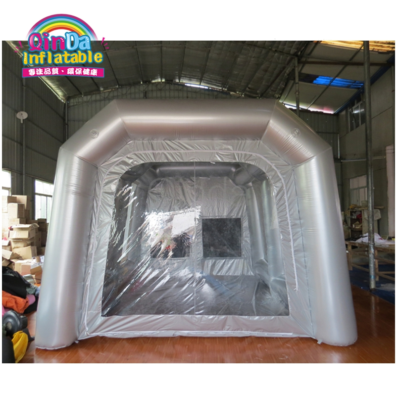 Top Supplier Hot Sale Inflatable Portable Car Spray Paint Booth Design With Filter