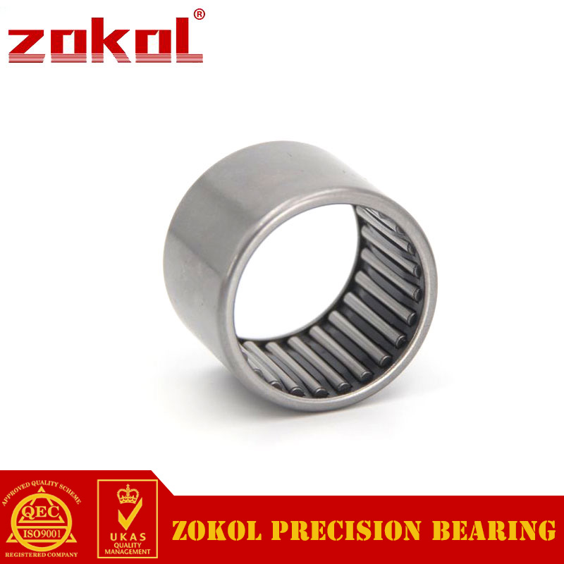 ZOKOL HK0808 HK0810 HK0812 Drwan Cup Caged Needle Roller Bearings With Open End 8*12*08 8*12*10 8*12*12 mm