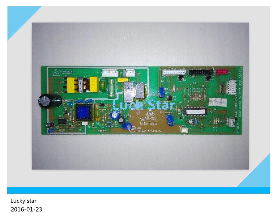 95% new for Midea refrigerator pc board motherboard control board BCD-283UTM 228UTM-MD BCD-228UTM6 on sale  95% new for midea refrigerator pc board motherboard control board bcd 283utm 228utm md bcd 228utm6 on sale