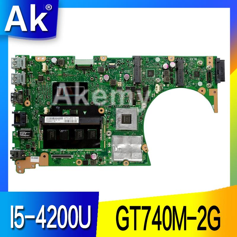 AK S551LB Laptop motherboard for ASUS S551LB S551LN S551LD S551L Test original mainboard 4G RAM I5