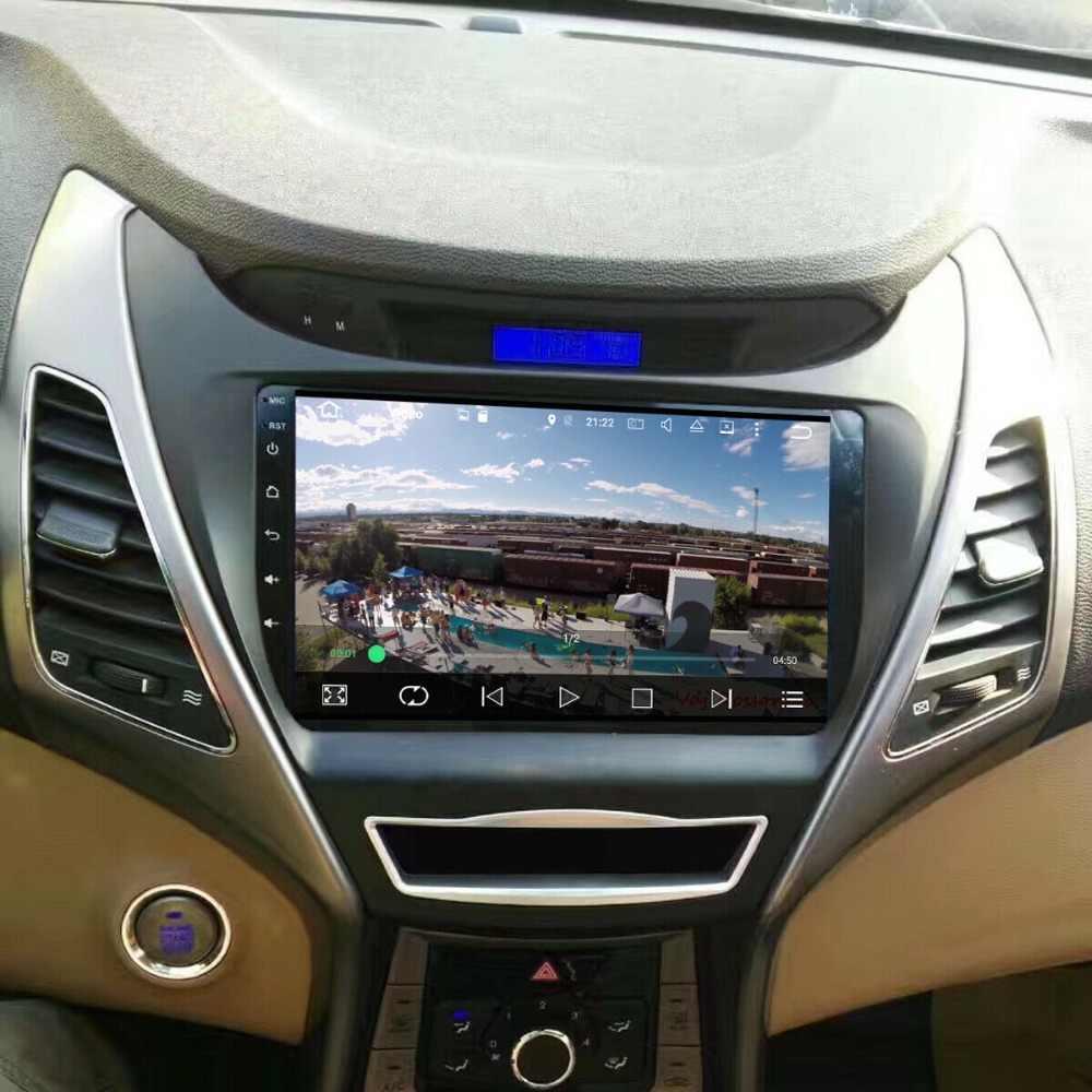 For Hyundai Elantra / Avante 2010~2015 Car Radio CD DVD