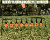 Outdoor Shooting 5/7/9 Lens Target Ring Target Pistol Cloth Gun Air Gun Paintball AirSoft BB Lead Shot Target Application Target