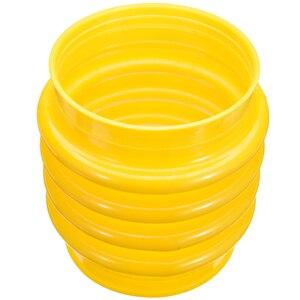 1 pièces 17.5cm saut Jack soufflet botte haute qualité outils électriques Rammer soufflet inviolable pour Wacker Rammer compacteur inviolable jaune