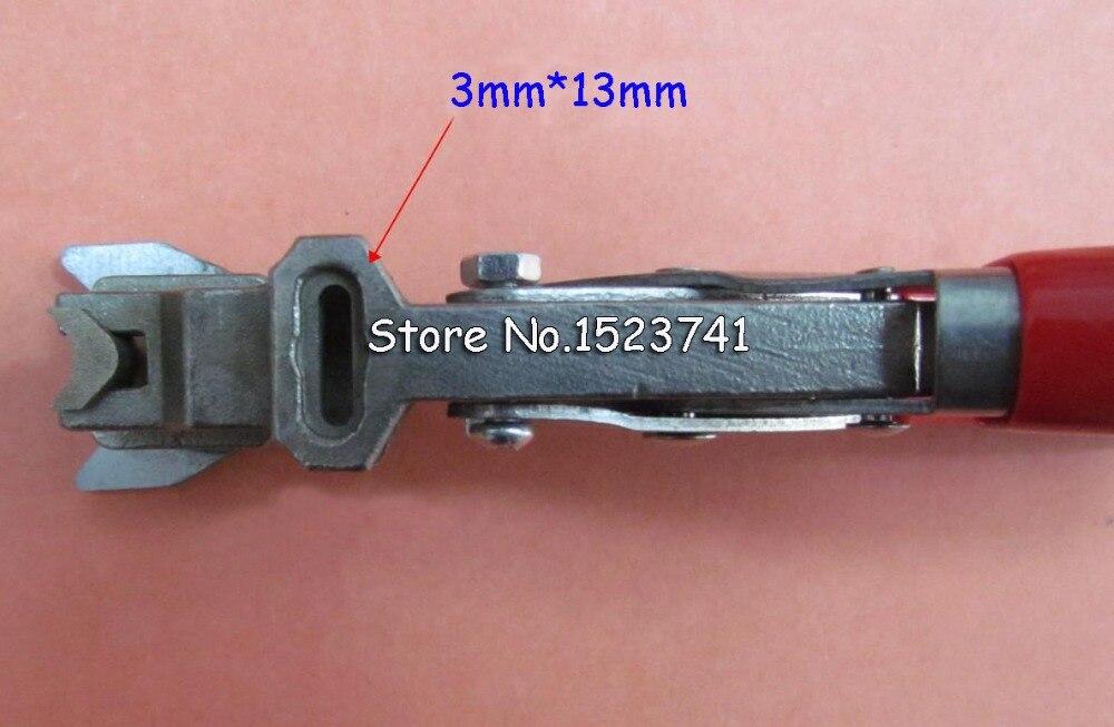 Manual R5 and 3x13MM Flat Hole ID Business Criedit PVC Paper Card ...