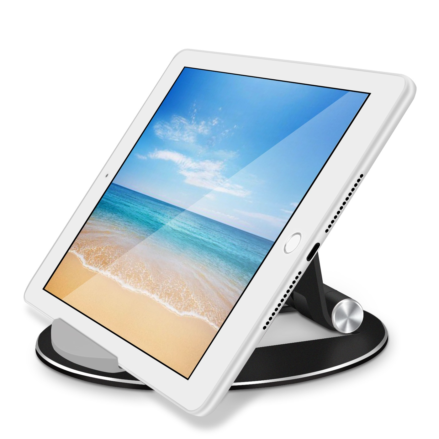 цена на Bed Desk Holder Stand for The Tablet Support for iPad Xiaomi Mi Pad 4 Samsung Tab 3 Universal Accessories Metal Adjustable Angle