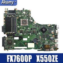 Amazoon X550ZE материнская плата для ноутбука ASUS X550ZE X550Z K550Z VM590Z A555Z K555Z X555Z Тесты оригинальная материнская плата FX7600P