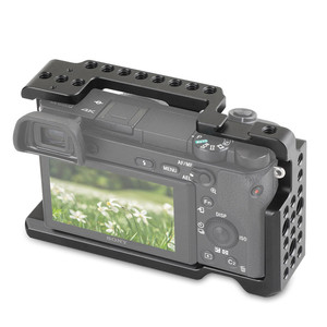 Image 2 - SmallRig מצלמה כלוב עבור Sony A6000 / A6300 / A6500 ILCE 6000/ILCE 6300/ILCE A6500/Nex 7 תא 1661