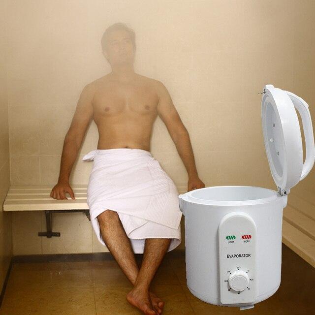 Portable sauna steamer electr resist sauna sauna machine Free shipping