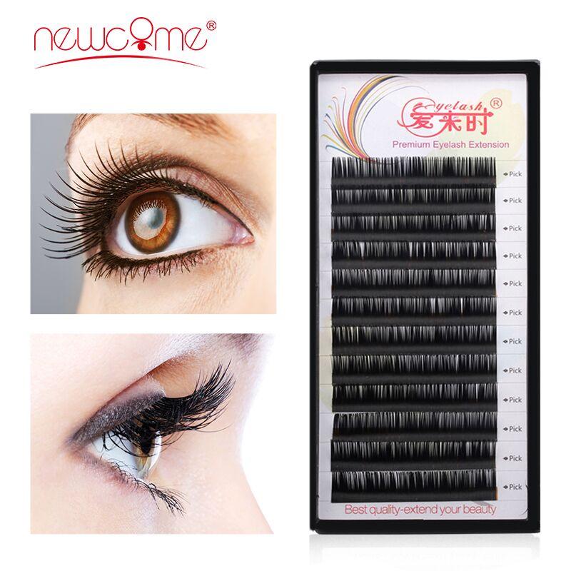 Eyelashes Extension Individual Russian Silk Volume Eyelashes Cilios Fake Eyelashes Natural Faux Mink Soft False Eyelashes Makeup