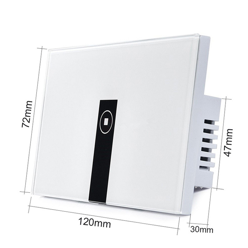 Image 2 - Ewelink 미국 표준 1 2 3 갱 벽 빛 app 스위치, 터치 컨트롤 패널, 스마트 폰을 통해 wifi 원격 제어, 알렉사와 함께 작동touch control switchlight control switchtouch switch control -