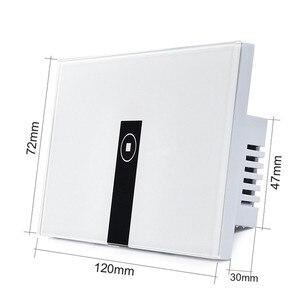 """Image 2 - Ewelink סטנדרטי בארה""""ב 1 2 3 כנופיית אור קיר מתג אפליקציה, לוח בקרת מגע, wifi שליטה מרחוק באמצעות טלפון חכם, לעבוד עם Alexa"""