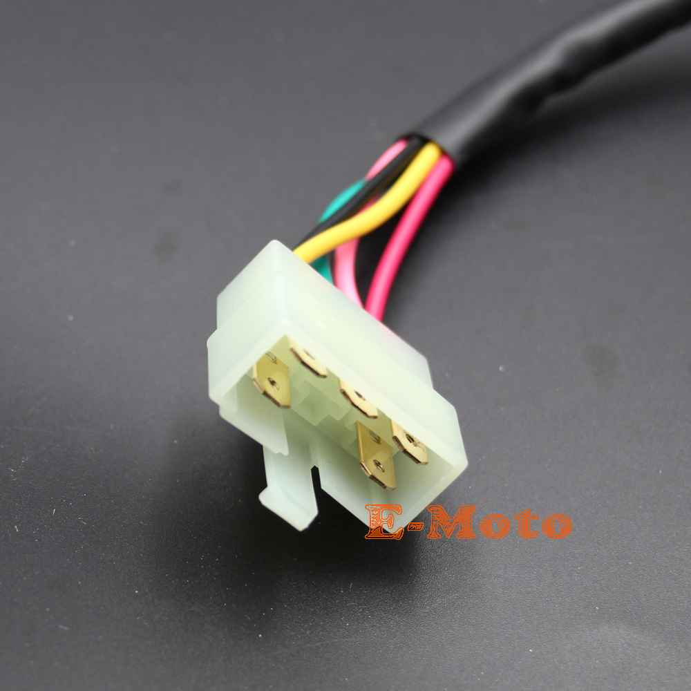 5 Wire Voltage Regulator Rectifier For Gy6 Moped Scooter Atv Quads 200cc Chinese Wiring Dirt Bike New E Moto In Motorbike Ingition From Automobiles Motorcycles On
