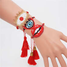 Go2boho Perles MIYUKI Bracelet Evil Eye For Women Jewelry Lucky Pulseras Mujer 2019 Summer Handmade Wedding Gift
