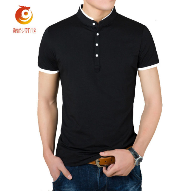 be84f1225b NEW Arrived Summer Men Polo Shirt Fashion Style Cotton Breathable Mandarin  Collar Short Sleeve Polo Shirt Men Plus Size L-4XL