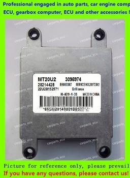 Para Ordenador de motor de coche/MT20U MT20U2 MT22 ECU/unidad de Control electrónico/Brilliance Jinbei Granse MT20U2 3095974 B600307 28214428