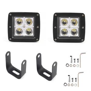1 Pair 4D 12W 4LED High Power