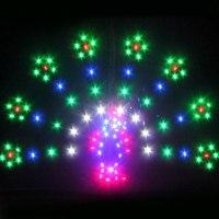 עפיפון עפיפון מקצועי 1.5 מטר מרובע LED כוח טוסה/חנות מפעל טיסה טובה בעלי החיים עפיפונים עם 48 אורות