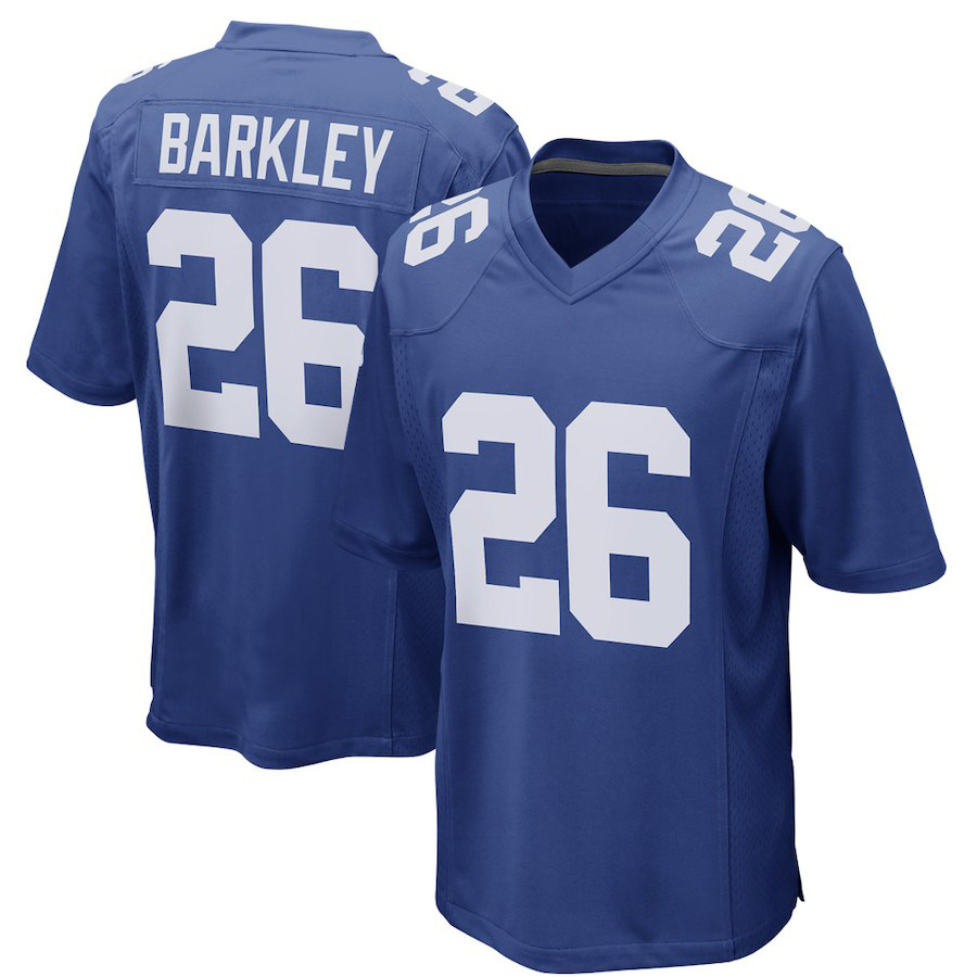 new concept 71d07 a08a1 VZ VARE ZANE Official Saquon Barkley Jerseys Color Rush ...