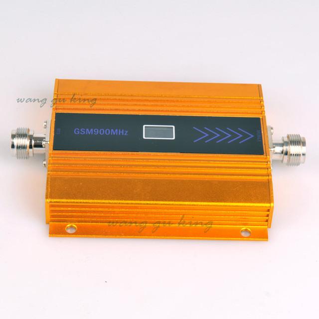 Display LCD Melhor Preço!!! alto Ganho de mini telefone móvel GSM 900 mhz reforço de sinal de telefone celular GSM repetidor de sinal amplificador