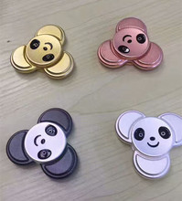 Panda High Speed Fidget Toys heavy EDC finger spinner cartoon Decorate Fidget Spinner metal For Autism