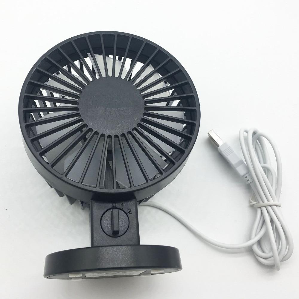 Portable Mini USB Fan Fan Kreatif Home Office ABS Peminat Elektrik - Perkakas rumah - Foto 3