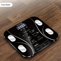 Caliente 13 cuerpo índice electrónico inteligente básculas de baño cuerpo gordo b mi escala humano Digital peso mi escalas piso pantalla lcd