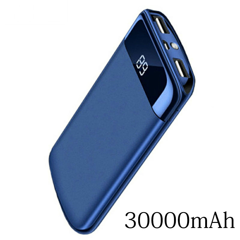 Power-Bank Mobile-Phone-Charger External-Battery 30000mah Huawei Xiaomi Mi Portable IPhone 7