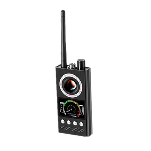 Image 4 - K68 רב פונקציה אנטי ריגול גלאי מצלמה GSM אודיו באג Finder GPS אות עדשת RF גשש לייזר אור חריר מצלמה Finder