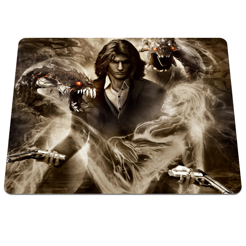 New arrival Black role Pattern High quality Durable Gaming Notebook Computer Mouse Mat Mice Pads Anti-slip Silicone Pad