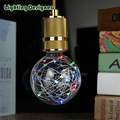 Flash de fogo de artifício G95 lâmpada LED bar iluminação do feriado do natal da festa de casamento decoração de casa 2 W 110 V-220 V globo Edison lâmpada LED 110 V-220 V