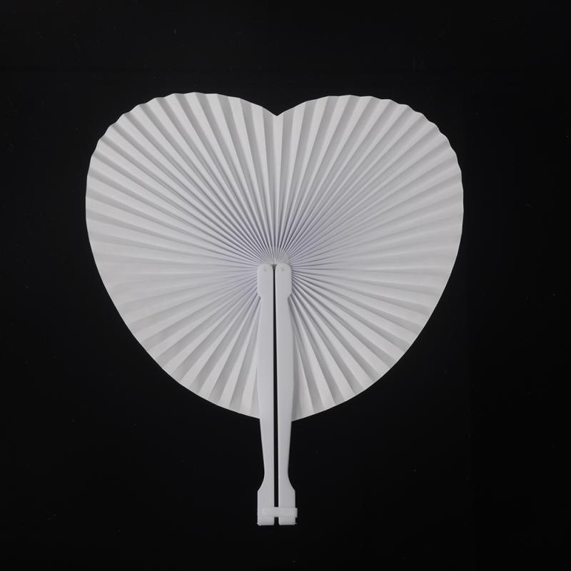[Fly Eagle] 1000 pièces X fête pliage papier coeur main ventilateurs fournitures de mariage tenture murale ventilateurs décorations