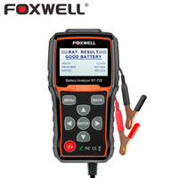 Foxwell BT 705 12V 24V Battery Analyzer Tester For Cars Duty Trucks Multi Language Digital Car