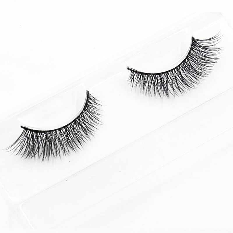 2pairs False Lashes Eyelashes Natural Long Fake Eyelashes Extensions