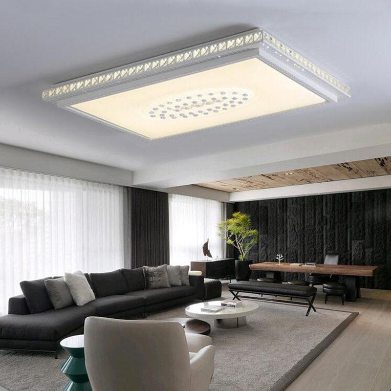 Living Room Light Bedroom Light Atmospheric Crystal Lamp Ceiling Light LED  Study Room Modern Simple Restaurant ...