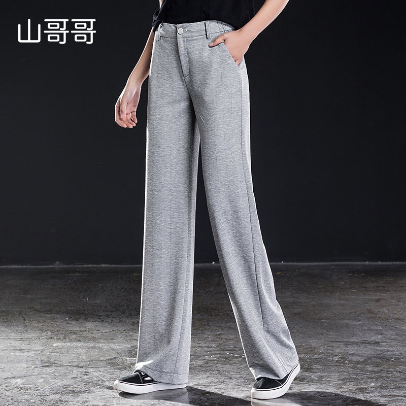54daaa27558 Elasicity-de-cintura-alta-para-mujeres-de-longitud-completa-de -pierna-ancha-pantalones-sueltos-lana-recta.jpg